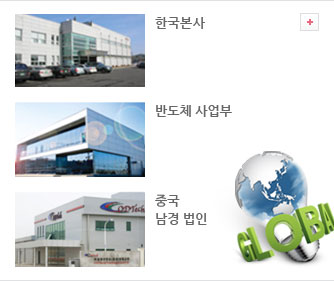 Headquarter (Korea), Semiconductor Division (Korea), China ODTech(Nanjing) Co.,Ltd